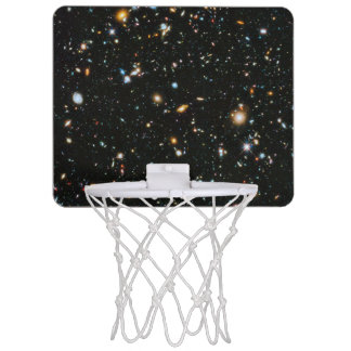 Deep Space Stars and Galaxies Mini Basketball Hoop