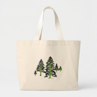 DEEP THE FOREST LARGE TOTE BAG