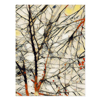 Deep Tree Postcard