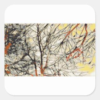 Deep Tree Square Sticker