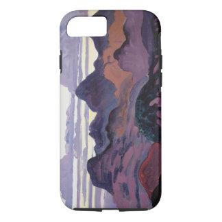 Deep Twilight, Pyrenees, c.1912-13 (oil on panel) iPhone 7 Case