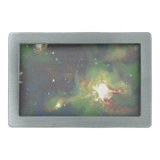 Deep Universe Rectangular Belt Buckle