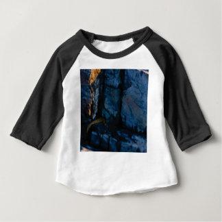 deep vertical cracks in rock baby T-Shirt