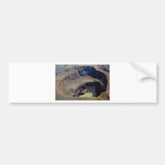 deep volcanic crater bumper sticker