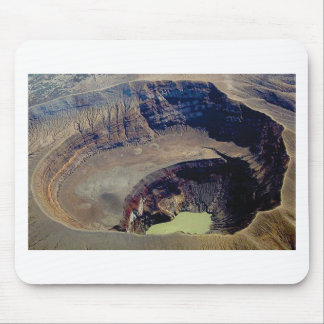 deep volcanic crater mouse pad