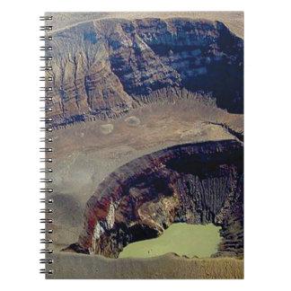 deep volcanic crater notebooks