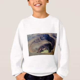 deep volcanic crater sweatshirt