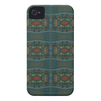 Deep Warm Masculine Pattern iPhone 4 Case