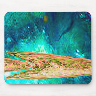 Deep water gold fish mouse pad