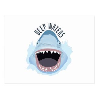 Deep Waters Postcard