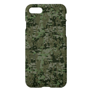Deep Woods Camo Background iPhone 8/7 Case