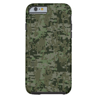 Deep Woods Digital Camouflage Camo Pattern Tough iPhone 6 Case