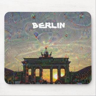 DeepDream Berlin, Brandenburg Gate Mouse Pad