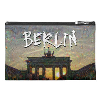 DeepDream Cities, Brandenburg Gate, Berlin Travel Accessories Bags
