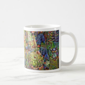 DeepDream Pictures, Cathedral Coffee Mug