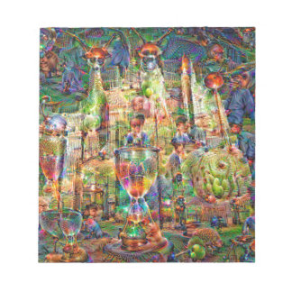 DeepDream Pictures, Cathedral Notepads
