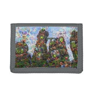 DeepDream Pictures, Rocks Trifold Wallet