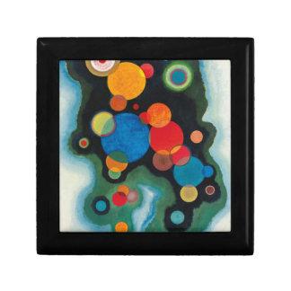 Deepened Impulse Abstract Oil on Canvas Kandinsky Gift Box