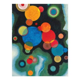 Deepened Impulse Abstract Oil on Canvas Kandinsky Letterhead