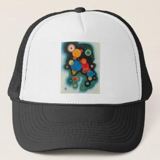 Deepened Impulse Abstract Oil on Canvas Kandinsky Trucker Hat