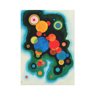Deepened Impulse by Wassily Kandinsky Canvas Print