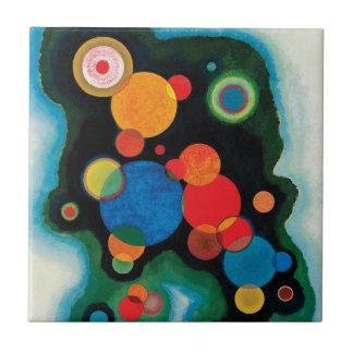 Deepened Impulse by Wassily Kandinsky Tiles