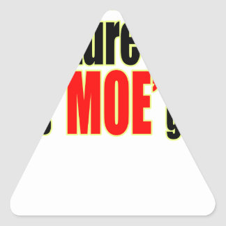 deeper culture moe gap definition for fun joke mem triangle sticker