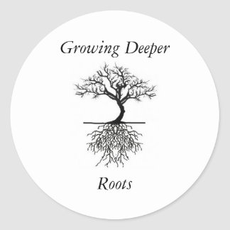 Deeper Roots Stickers