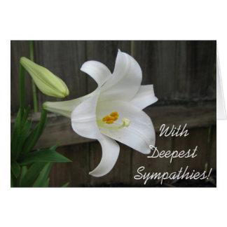 Deepest Sympathies! Card