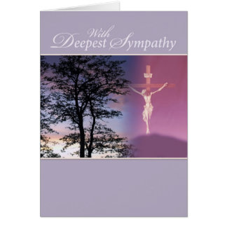 Deepest Sympathy, Religious Card