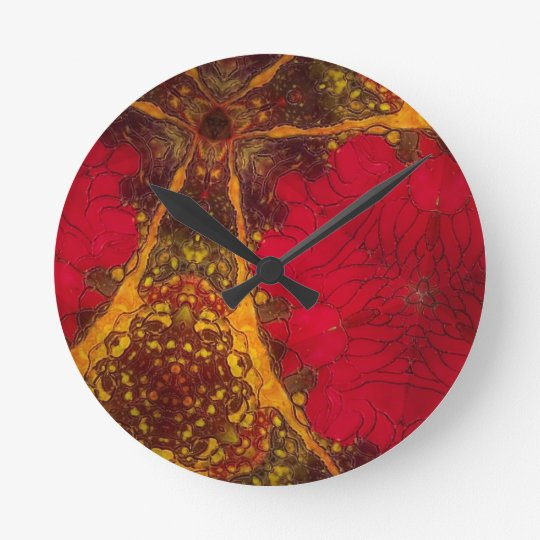 Deeply Passionate Round Clock