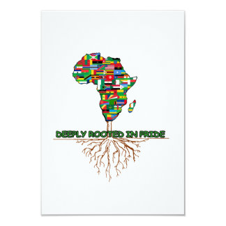 Deeply Rooted BHM Party Invitation
