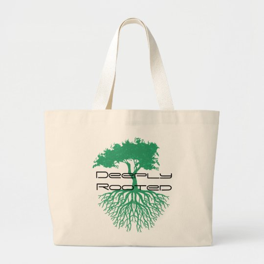 Deeply Rooted Large Tote Bag