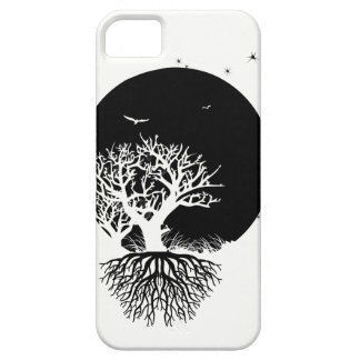 Deeply Rooted Moon iPhone 5 Covers