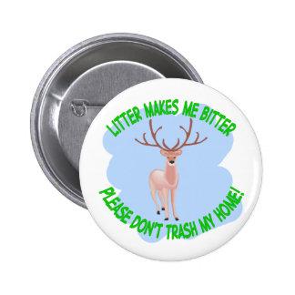 deer 2 inch round button