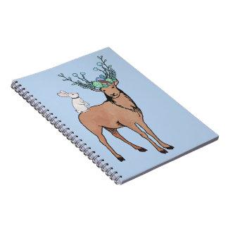 Deer and Rabbit Notebook