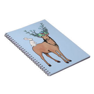 Deer and Rabbit Notebooks