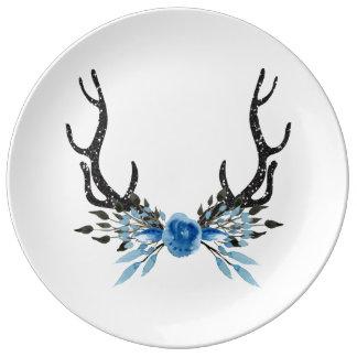 Deer Antler Paper Plate