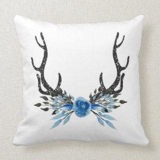 Deer Antler Square Pillow