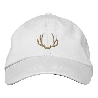 Deer Antlers Embroidered Hat