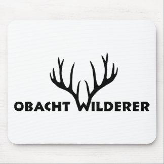 deer antlers party wilderer hunter hunt mouse pad