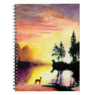 Deer at Dawn Notebooks