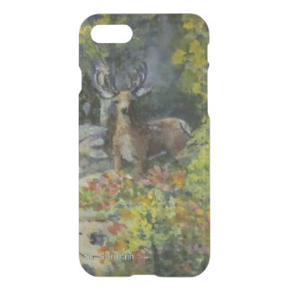 Deer at the Waterfall iPhone 8/7 Case