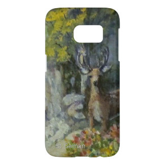 Deer at the Waterfall Samsung Galaxy S7 Case