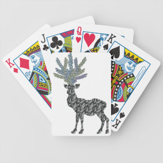deer bicycle playing cards