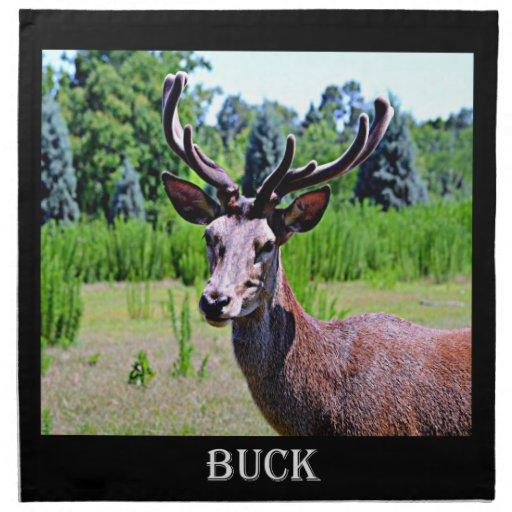 Deer (BUCK) Printed Napkin