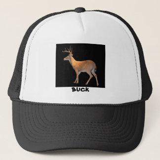 Deer (Buck) White-Tailed Trucker Hat