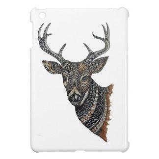 Deer Buck with Intricate Design iPad Mini Covers