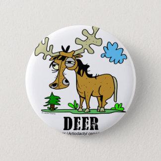 Deer by Lorenzo © 2018 Lorenzo Traverso 2 Inch Round Button