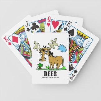 Deer by Lorenzo © 2018 Lorenzo Traverso Bicycle Playing Cards